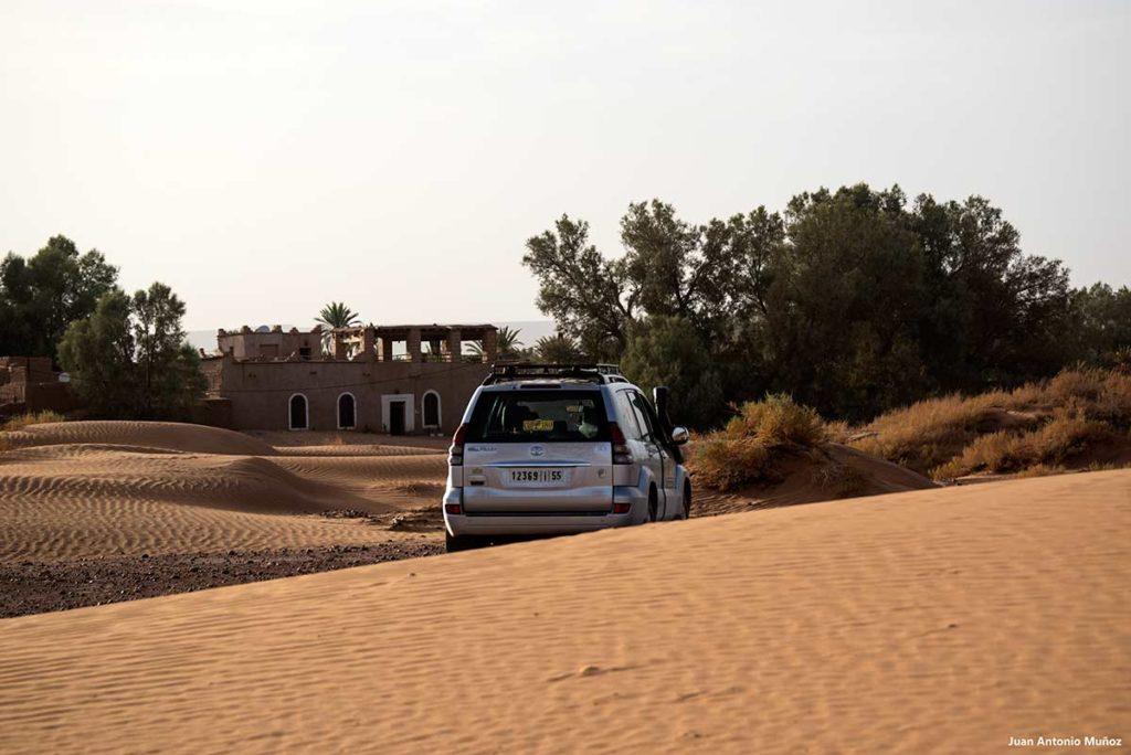 Coche y Casa Juan. Marruecos