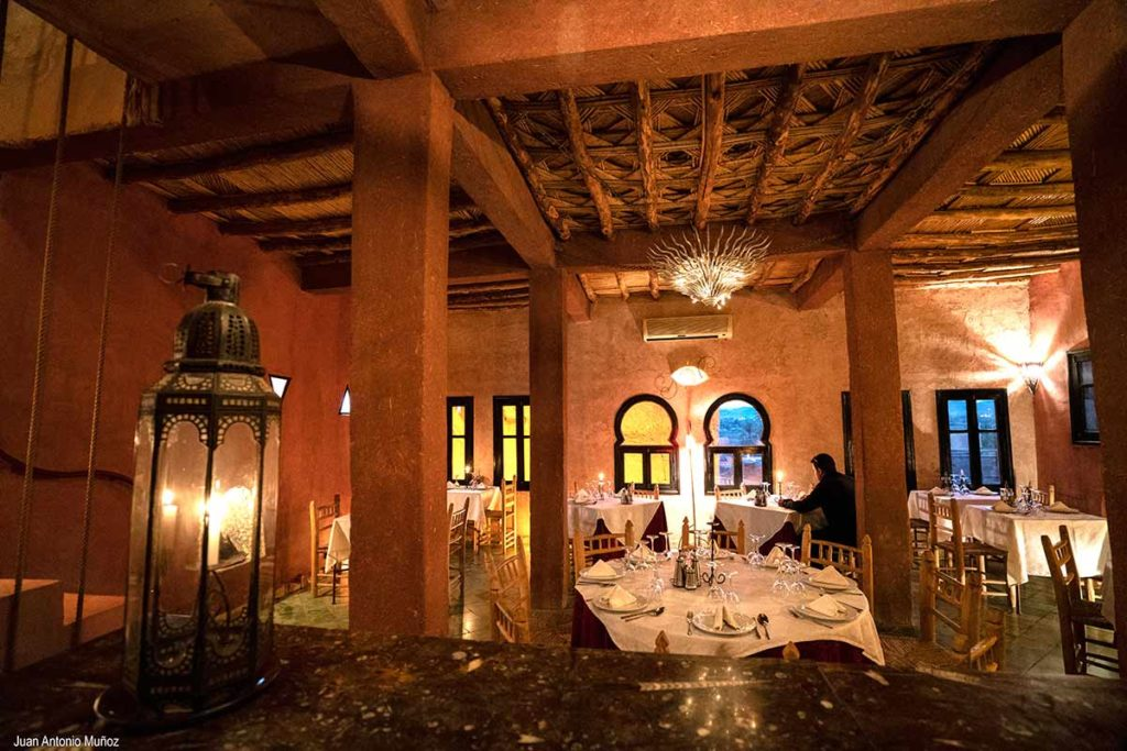 Dar Kamar restaurante. Ouarzazate