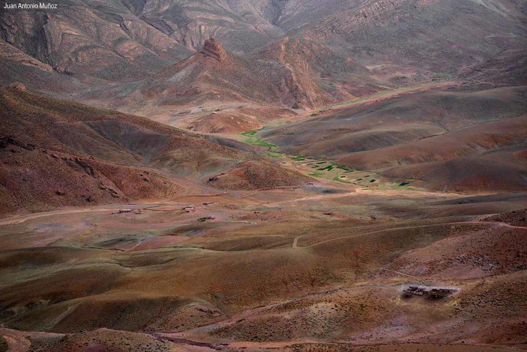 Valle encantado. Marruecos