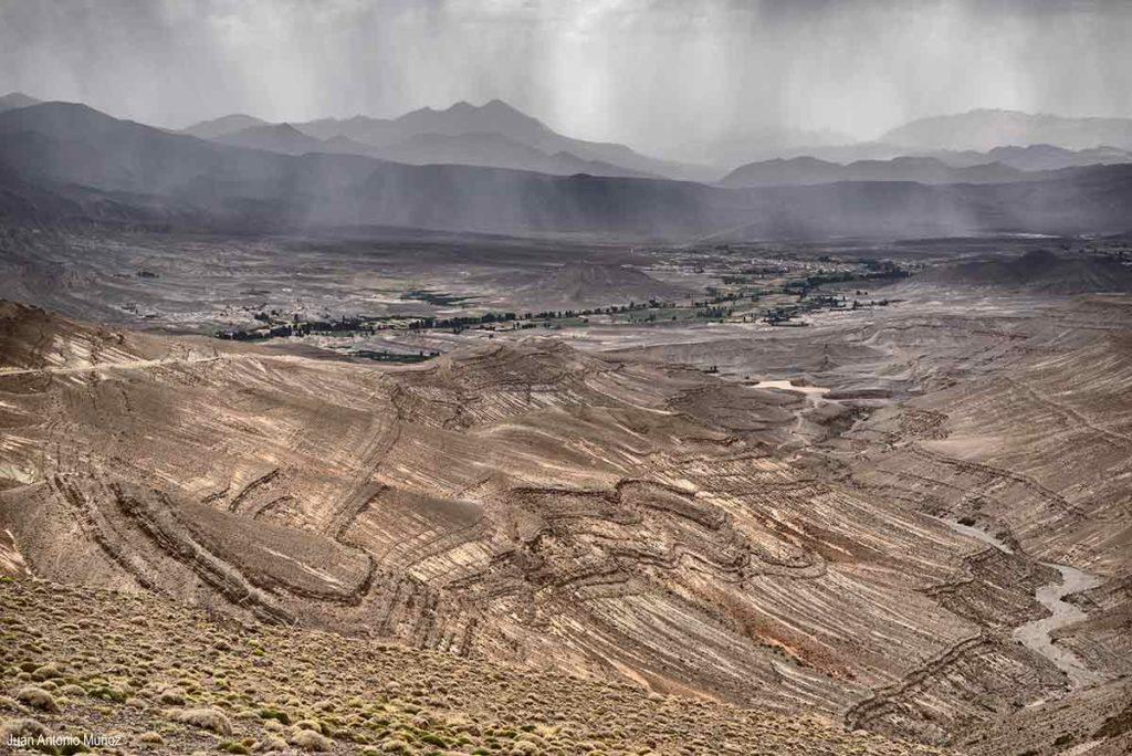 Atlas y lluvia. Marruecos