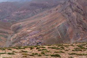 Paisaje color Atlas. Marruecos