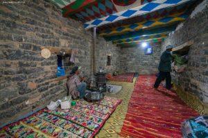 Interior de casa. Atlas. Marruecos