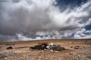Jaima aislada. Atlas. Marruecos
