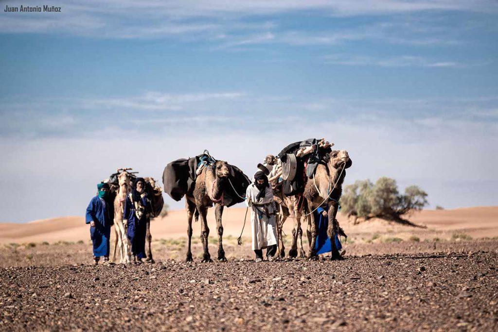 Por la llanura. Marruecos