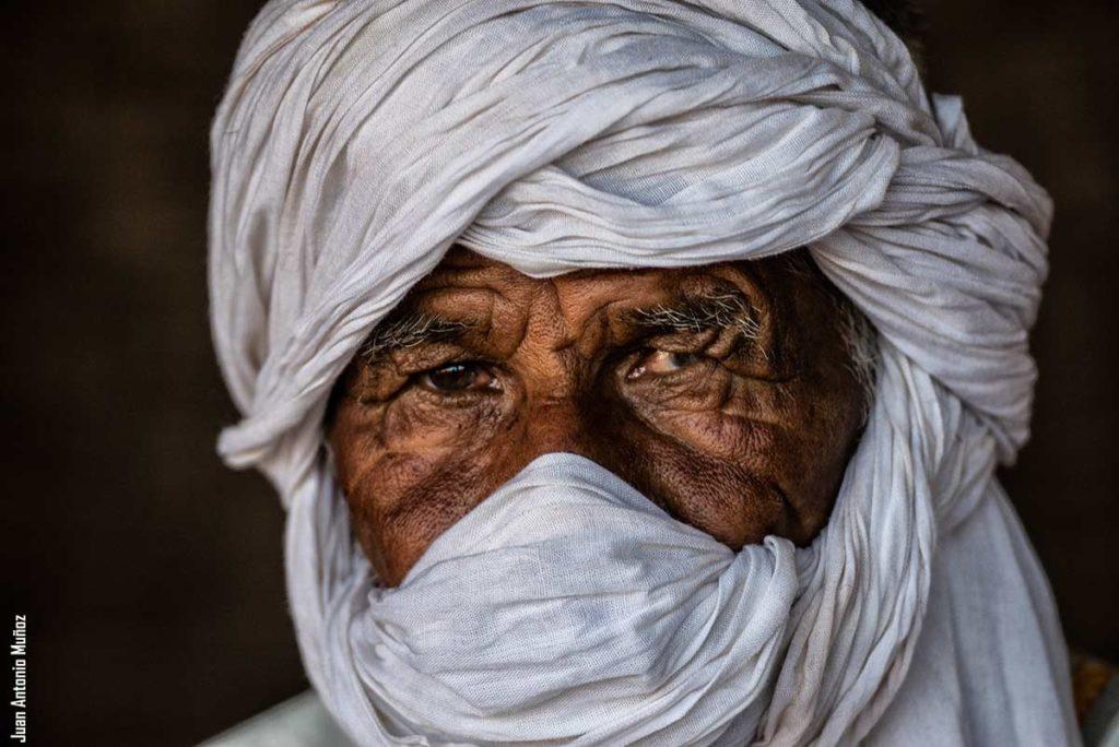 Retrato de Khatar. Marruecos