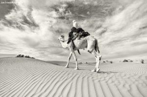 Khatar en camello. Marruecos
